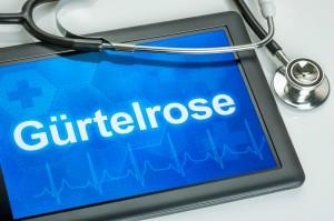 Gürtelrose - Symptome und Behandlung