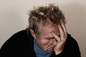 Depression Augenflimmern, Stress