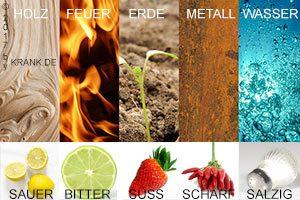 Fünf Elemente Diät