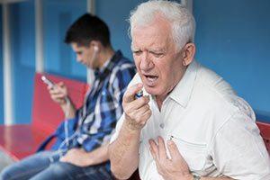 Asthamaanfall Inhaliergeräte