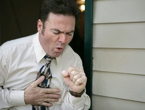 Asthma, Husten, Atemnot