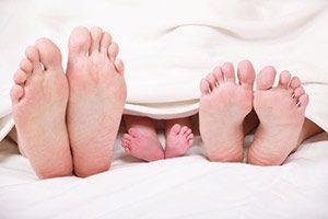 Fußpilz hornhaut