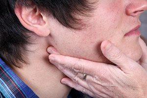 Pfeiffersches-Drüsenfieber, Geschwollene Lymphknoten, lymphe,