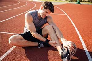 Magnesiummangel gesunde ernährung sport glieder krampf Bandagen
