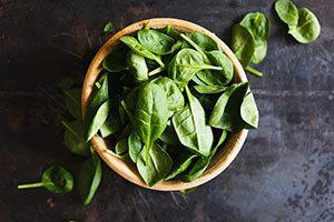 Folsäure spinat Vitamin B9 - Folsäure