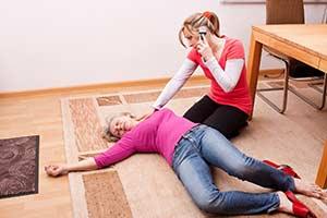 Erste Hilfe bei Dysregulation (Bewusstlosigkeit / Ohnmacht)