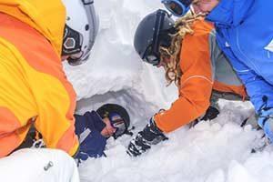 Erste Hilfe bei Erfrierungen