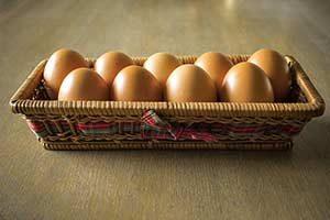 Mayo-Diät eier ei