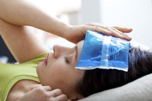 Eisbeutel Behandlung
