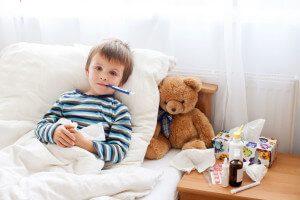 Hausmittel gegen Fieber Fieberthermometer