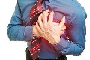 Mann mit Herzinfarkt Levitra