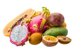 exotische früchte lebensmittel kalorien kalorientabelle