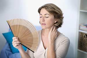 Wechseljahre (Klimakterium), Symptome Hitzewallungen