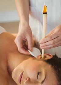 Ohrenkerzen Ohrkerzen behandlung