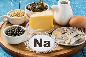 Natrium na mineralstoffe Osmolalität Hyponatriämie
