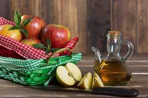 apfelessig behandlung Hausmittel gegen Bluthochdruck Apfelessig Diät