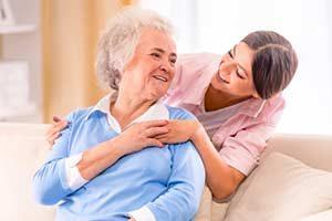 Altenpflege behandlung