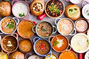suppen lebensmittel kalorien kalorientabelle, Schnupfen