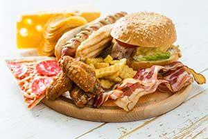 fast food lebensmittel kalorien kalorientabelle