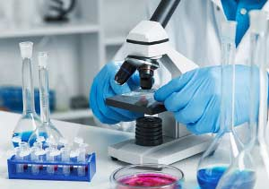 Pathologie Behandlung Mikroskop