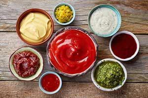 saucen dressing lebensmittel kalorien kalorientabelle