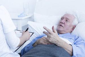 Behandlung Anamnese Unterleibsschmerzen