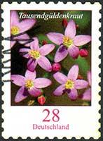 Bachblüte Centaury briefmarke