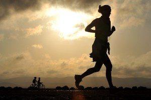 Sport gegen Herzklopfen