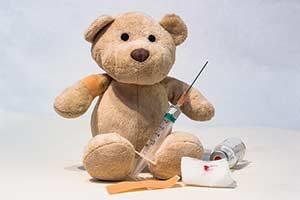 teddybär impfung