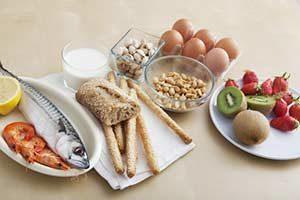 Lebensmittel Allergie Juckreiz