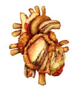 falsche Ernährung Fast food