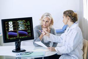 Behandlung Knochendichtemessung