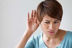 schwerhörig Ohr Wahrnehmungsstörung