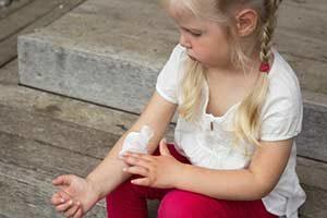 Salbe gegen Mückenstich