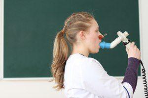 Behandlung Lungenfunktionstest