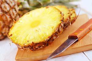 Ananas Scheiben Ananas Diät