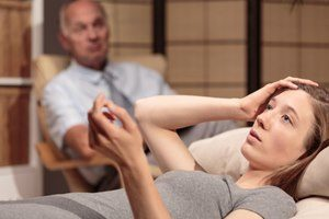 Behandlung Psychoanalyse