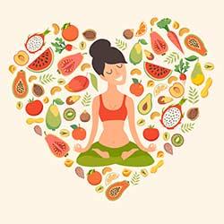 Ruhe Gesunde Ernährung