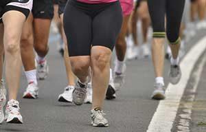 Übergewicht Menschen Sport
