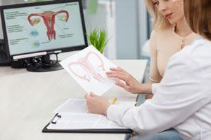 Behandlung Gynäkologie Gebörmutter, zervix, gebärmutterhals