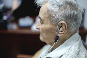Behandlung Hörtest