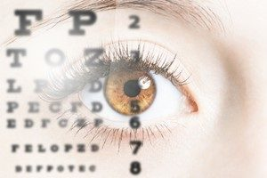 Behandlung Sehtest Gleitsichtbrille