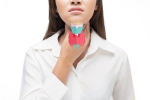 Behandlung Radiojodtherapie; Krankheiten Struma Schilddrüse Hals Triiodthyronin T3, schilddrüse