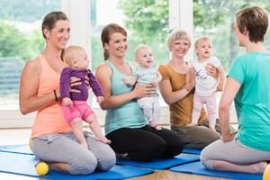 Behandlung Rückbildungsgymnastik
