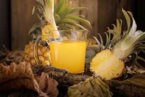 Ananas Saft, wohlschmeckend und Gesund!