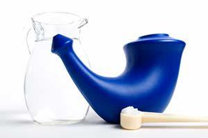 Nasenspülung Nasendusche