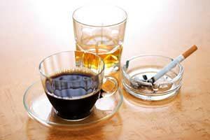 Nikotin Alkohol Giftstoffe Genussmittel