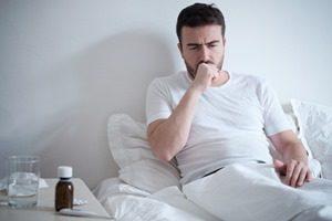 Krankheiten trockener Husten