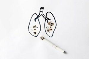Krankheiten Raucherlunge Symptome Kreislaufprobleme Elontril Nicorette Freshmint Kaugummi 2mg