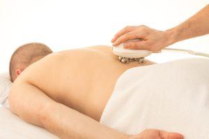 Massagegerät rücken massage handtuch